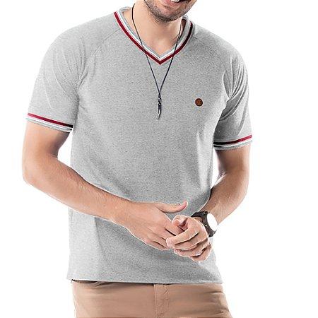 Camiseta Retilínea TZE Mescla