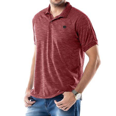 Camisa Polo Grega Ombro TZE Vermelha