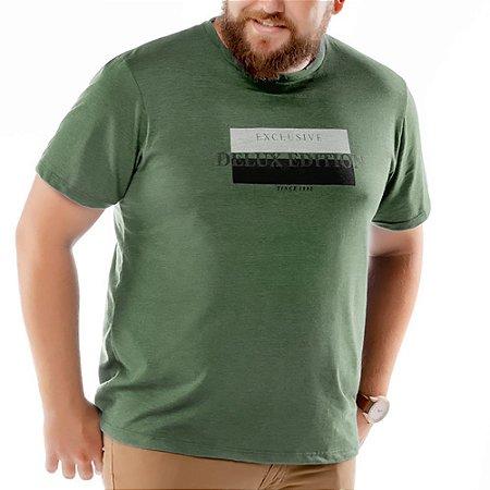 Camiseta Estampa Brilho Plus TZE Verde
