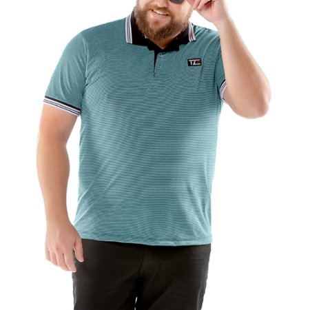 Camisa Polo Listy Plus TZE Azul