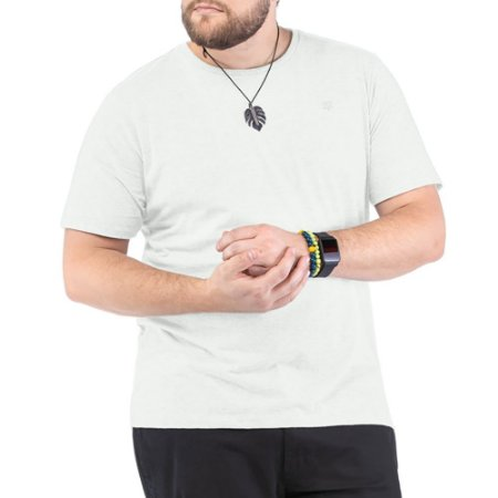 Camiseta Bordado Logo Plus TZE Branca
