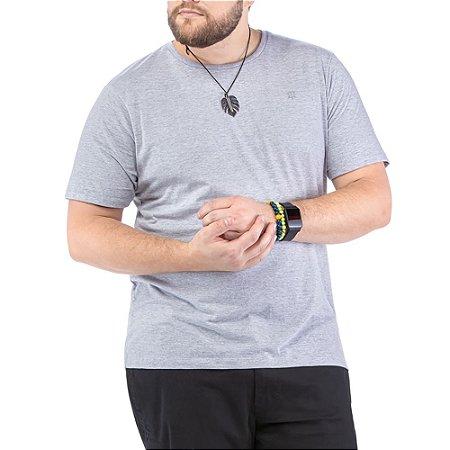 Camiseta Bordado Logo Plus TZE Mescla