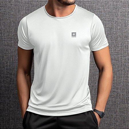 Camiseta Dry Masculina Endorfina Branca