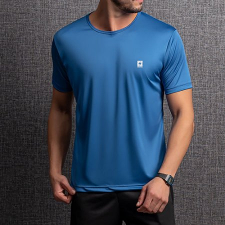 Camiseta Dry Masculina Endorfina Azul