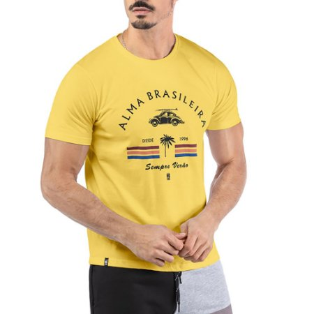 Camiseta Estampa ALMA BRASILEIRA No Stress