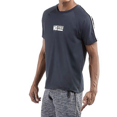 Camiseta C/ Grega No Stress Grafite