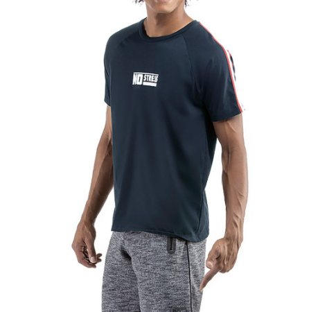 Camiseta C/ Grega No Stress Azul