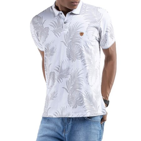 Gola Polo Floral No Stress Branca