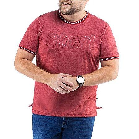 Camiseta C/ Estampa TZE Plus Vermelha