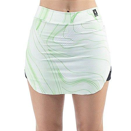 Short Saia Esportivo C/ Porta Celular Endorfina Verde
