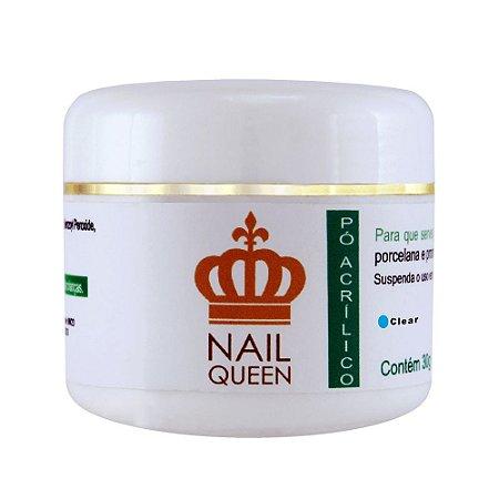 Pó Acrílico Clear 30g Nail Queen