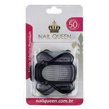 Molde Adesivo para Unhas Premium com 50 unidades Nail Queen