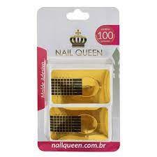 Molde para Unha para Alongamento com 100 unidades Nail Queen
