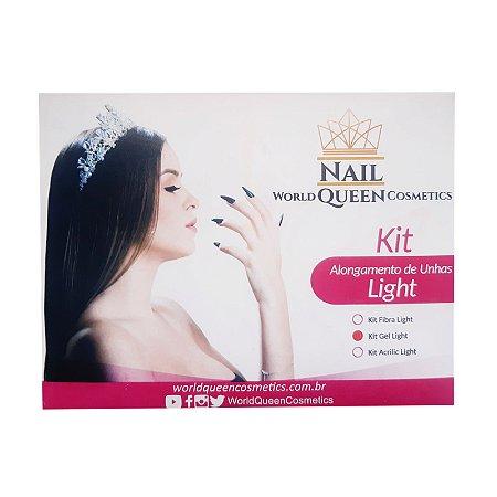 Kit Unha Gel Light Nail Queen