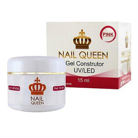 Gel de Construção Pink - Nail Queen - 15ml