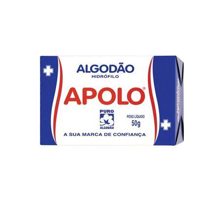 Algodão Apolo Caixinha 50g SC C/20 Unid