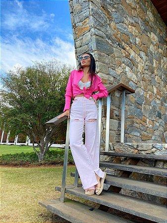 camisa pink - cloude