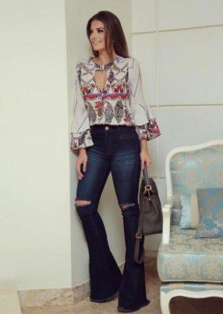 Calça Jeans Karina