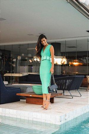 Vestido Verde Midi - Cloude