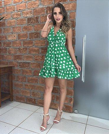 Vestido verde Perla - Cloude