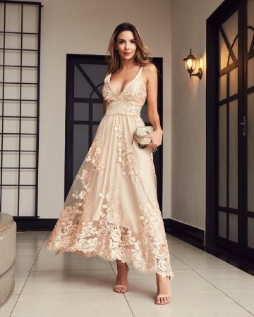 Vestido midi - Ana Hova