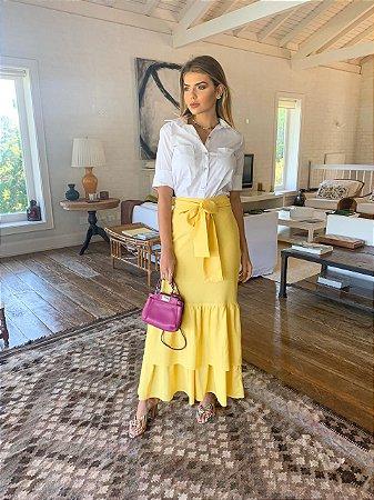 Saia amarela - aquarella