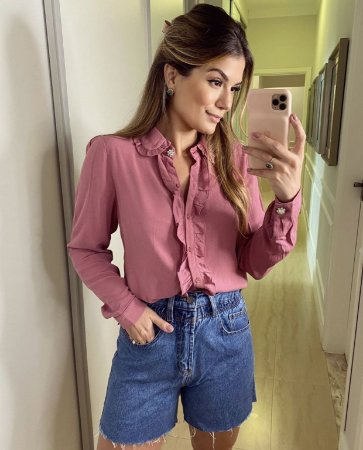 Short Jeans com Corda Alcance
