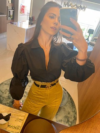 Camisa preta - cloude