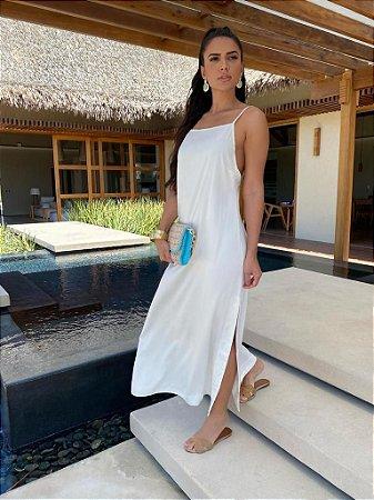 Vestido off white - carol dias