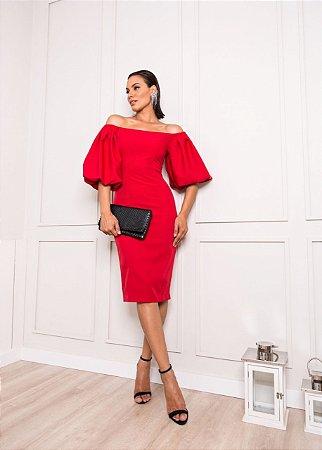 Vestido vermelho debora - desnude