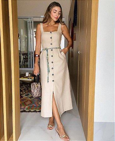 Vestido midi - aquarella