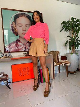 Blusa pink celia - cloude