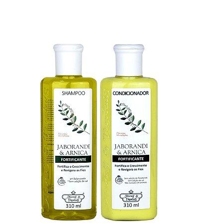 Flores E Vegetais Jaborandi E Arnica Kit Shampoo E Condicionador
