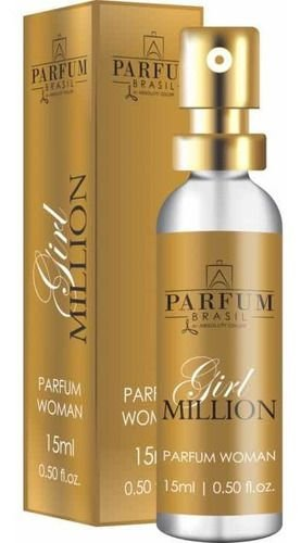 Girl Million Perfume 15ml Parfum Brasil By Absoluty Color