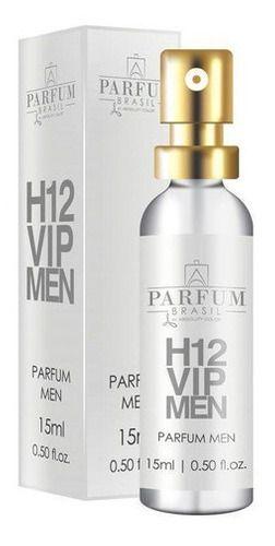 Perfume H12 Vip Men 15ml  Parfum Brasil By Absoluty Color