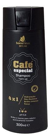 Barrominas Café Especial Shampoo Pós Química 300 mL