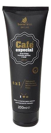 Finalizador Antifrizz Proteção Térmica Café Especial Barrominas 200 mL