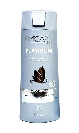 Shampoo Matizador Platinum Bm'Care  Colors Barrominas 300 mL