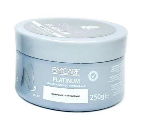 Máscara De Hidratação Bm'Care Colors Platinum Barrominas 250g