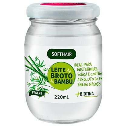 Softhair Leite Do Broto De Bambu +Biotina Misturinha Fortalecedora
