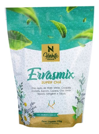 Super Chá Emagrecedor Ervas Mix Hábito Natural 170g