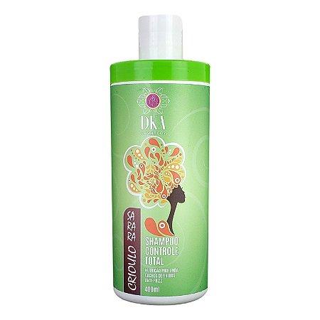 Shampoo Controle Total Cachos Definidos Sarara Crioulo D.ka Cosméticos
