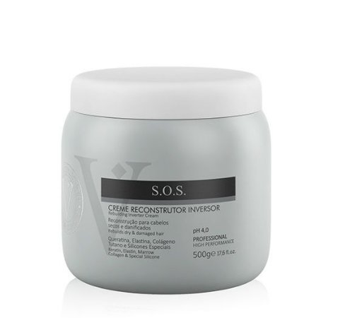 Varcare Concept Creme Reconstrutor Inversor S.O.S  Vip Line Collection 500gr