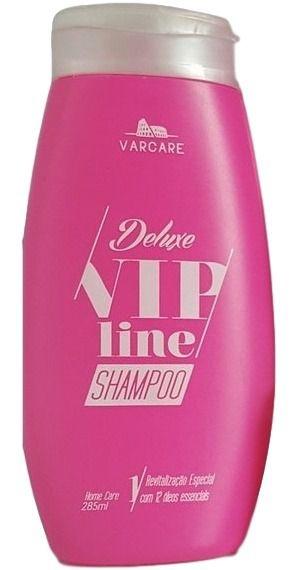 Shampoo Revitalização Especial Vip Line Deluxe Varcare - 285ml