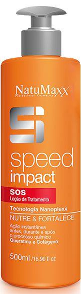 Loção de Tratamento S.O.S Speed Impact Tecnologia Nanoplexx Nutre e Fortalece