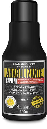 Natumaxx Shampoo Anabolizante Fortalecedor 300 ml