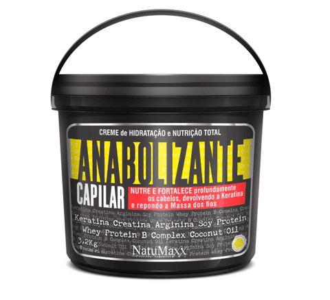 Natumaxx Mascara Hidratação e Nutrição Anabolizante Capilar - 3,2 kg