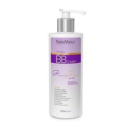 BB Cream Capilar Sem Enxague 10 em 1 Beauty Balm Natumaxx - 500 ml