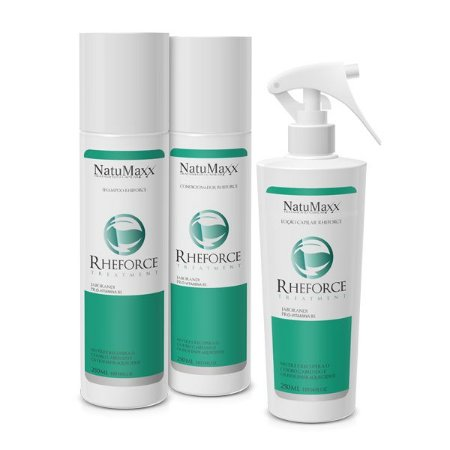 Kit Manutenção Antiqueda Natumaxx Rheforce Treatment Home Care