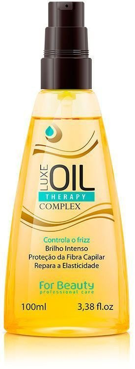 For Beauty - Luxe Oil Therapy Complex Repara a  Elasticidade e Controle do Frizz 100ml